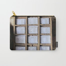 Prayer Cards  Carry-All Pouch