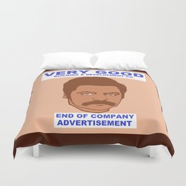 Rons Very Good Building Co. Duvet Cover