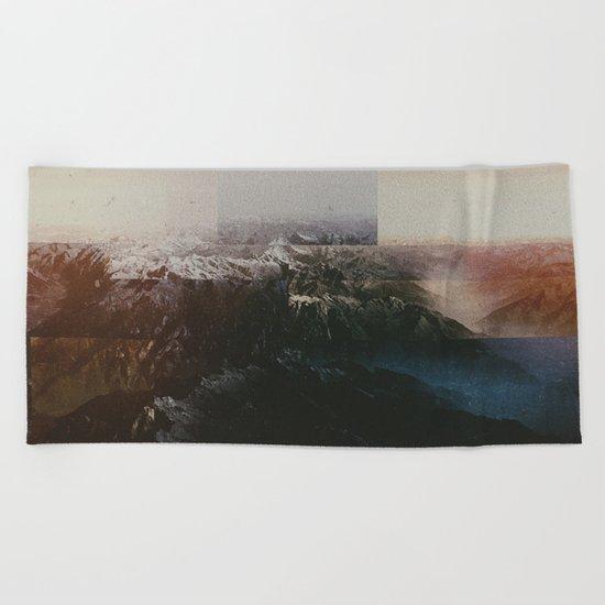 Fractions A64 Beach Towel