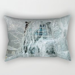 Snow Rectangular Pillow