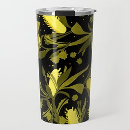 Melaleuca back & yellow Travel Mug