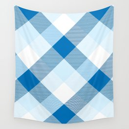 Geometrical Square Abstraction 5 Wall Tapestry