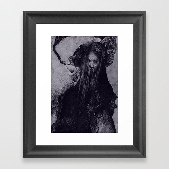 FLOWS 002 Framed Art Print