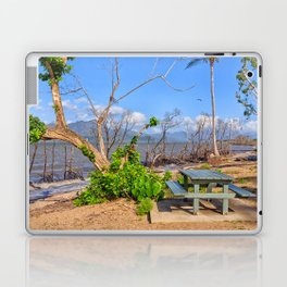 Picnic by the shore Laptop & iPad Skin