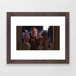 The Peabody Family - BTTF Framed Art Print