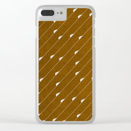 Abstraction_RAIN_PATTERN_001 Clear iPhone Case