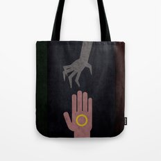 Lord of the Rings Minimalist Posters: Trilogy Tote Bag