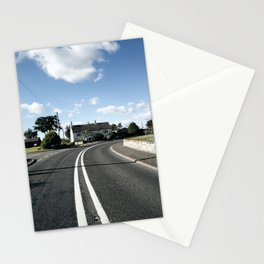 sweepy road Stationery Cards