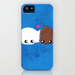 The Best of Friends - Toilet Paper and Poop iPhone Case