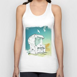 At the Beach Unisex Tank Top
