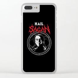 HAIL SAGAN Clear iPhone Case