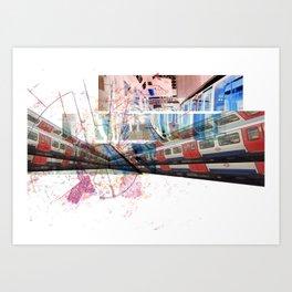 LondonTube Art Print