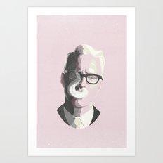 Roger Sterling | Mad Men Portrait Art Print