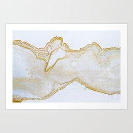 Bridger Gold Art Print