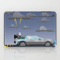 delorean iPad Cases featuring Delorean Song by thewhitewolf90