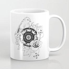 Bird Design Coffee Mug