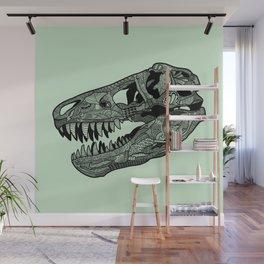 Jurassic Skull Wall Mural