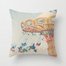 carnival swing I ... Throw Pillow