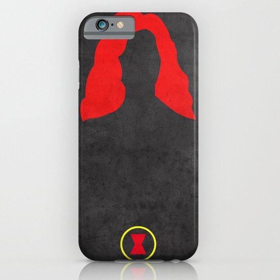 Black Widow iPhone & iPod Case