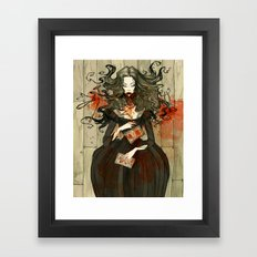 Berenice Framed Art Print
