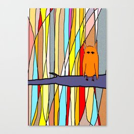 meditation animal Canvas Print