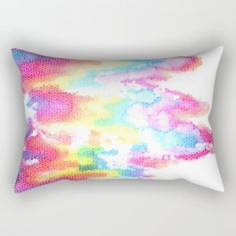 Everything I do is stitched with its color Rectangular Pillow