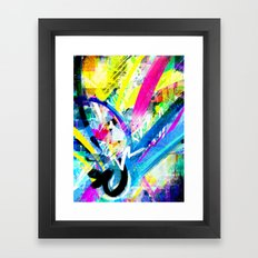 Mediascapes  Framed Art Print