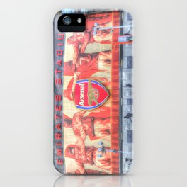 Arsenal FC Emirates Stadium London iPhone Case