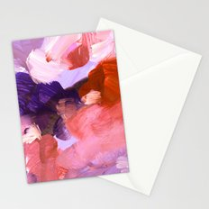 abstract painting V Stationery Cards