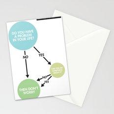 Zen Flowchart Stationery Cards