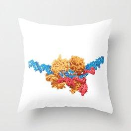 Crispr DNA organisms Science Biology Teacher Throw Pillow