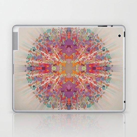 Match Sticks on an Open Fire. Laptop & iPad Skin