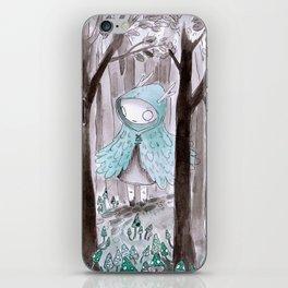 Wild girl iPhone Skin