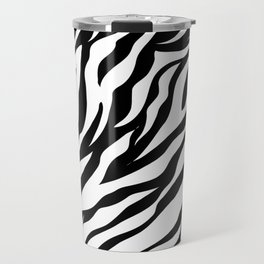 Zebra print.Pattern,,animal print home decor Travel Mug