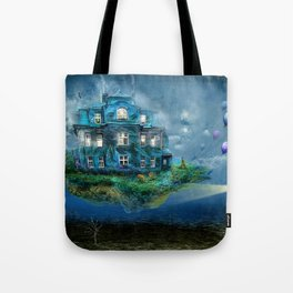 A journey with the wind Tote Bag
