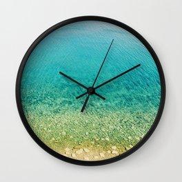 Mediterranean Sea, Italy, Photo Wall Clock