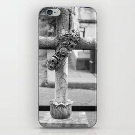 old cross iPhone Skin