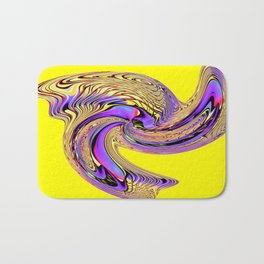 therefore I am Yellow ! Bath Mat