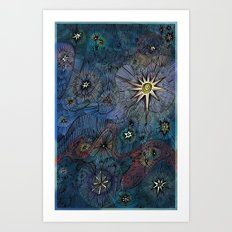 Upon a Midnight Clear Art Print