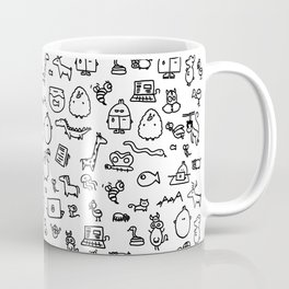 The TourBunny Pattern Coffee Mug