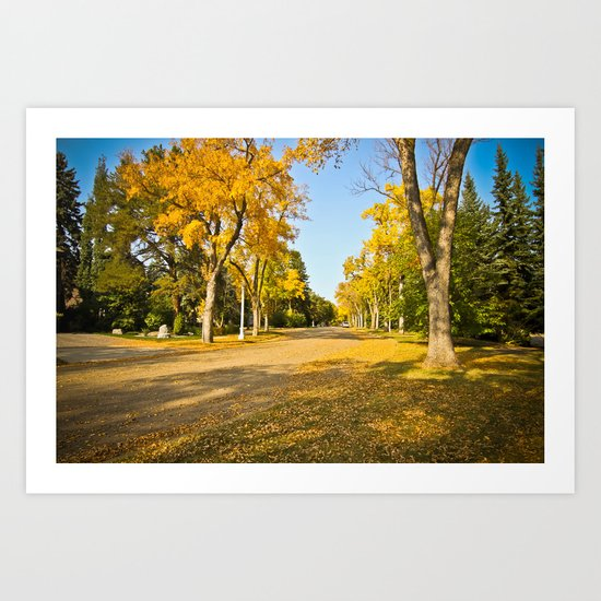 Autumn ... Art Print