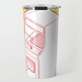 ARCADE CAB - MS. PAC-MAN Travel Mug