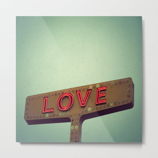 Love Signs Metal Print