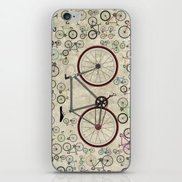 Love Fixie Road Bike iPhone Skin