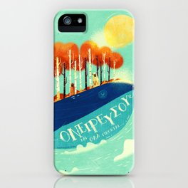 :::Tall Tree Whale::: iPhone Case
