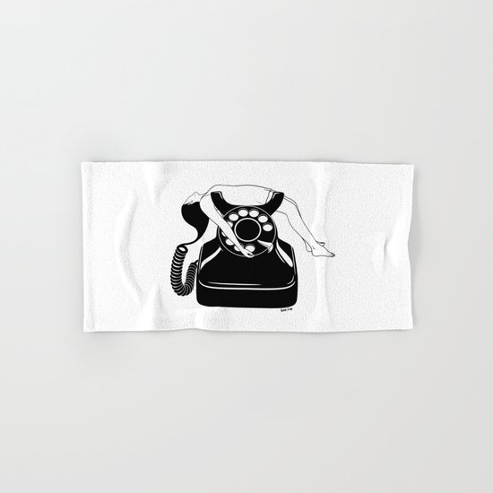 Ring My Bell Hand & Bath Towel