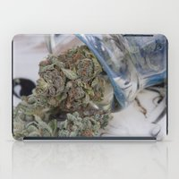 medical iPad Cases featuring Silver Afghan Medical Marijuana by BudProducts.us