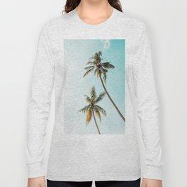 Palm Tree Beach Summer Long Sleeve T-shirt