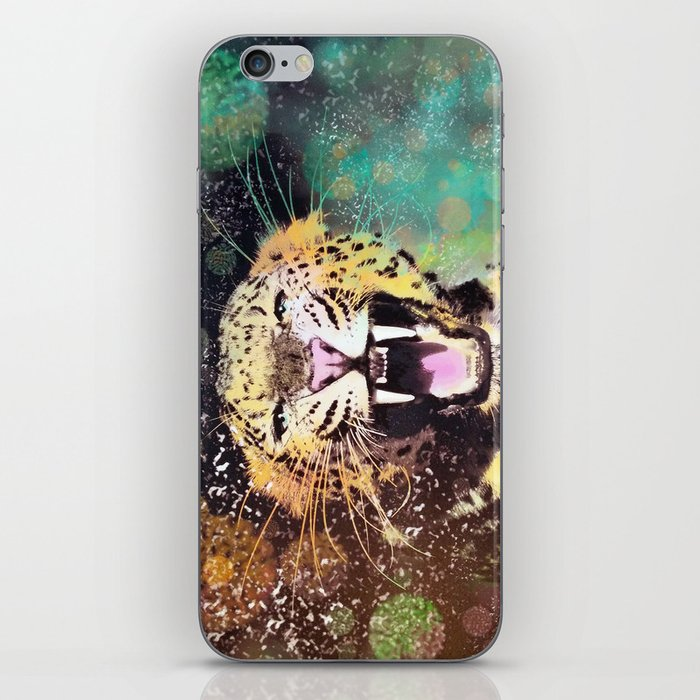 Crescendo Leopard iPhone Skin