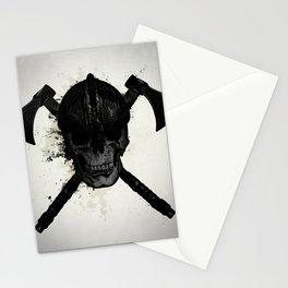 Viking Skull Stationery Cards
